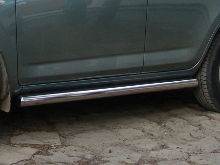 Nissan Pathfinder 2005-2009г.в.-Пороги труба d-76